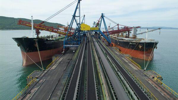 Портовый комплекс Восточный порт в Приморском крае. Архивное фото