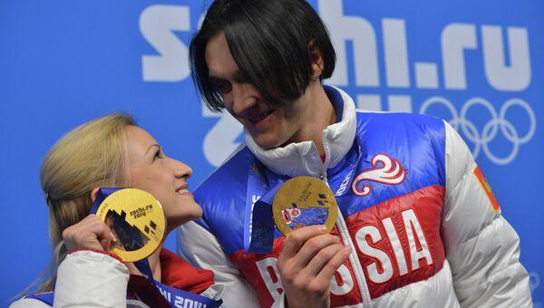 Татьяна Волосожар и Максим Траньков. Архивное фото