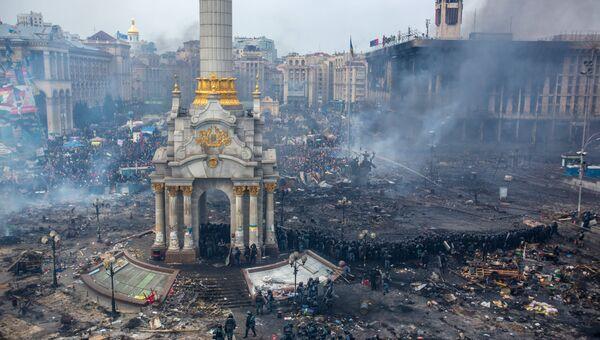 Ситуация в Киеве. Фото с места событий