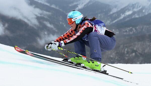 Мариэль Томпсон (Канада) в финале ски-кросса. Архивное фото