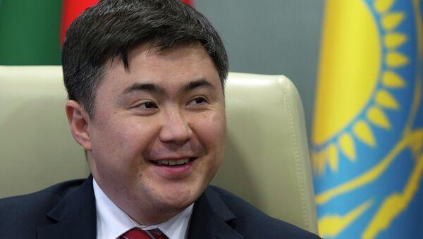 Министр Евразийской экономической комиссии Тимур Сулейменов. Архивное фото