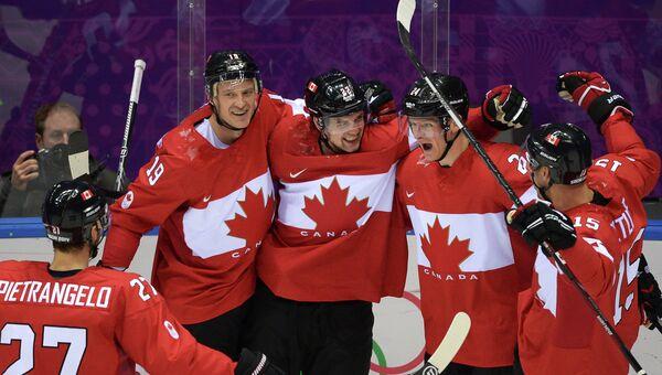 Олимпиада 2014. Хоккей. Мужчины. США - Канада