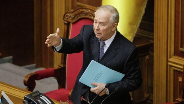 Бывший председатель Верховной Рады Владимир Рыбак. Архивное фото