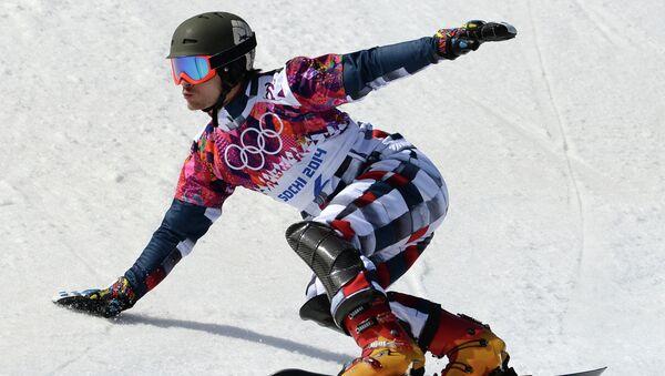 Вик Уайлд (Россия) в квалификации параллельного слалома. Фото с места события