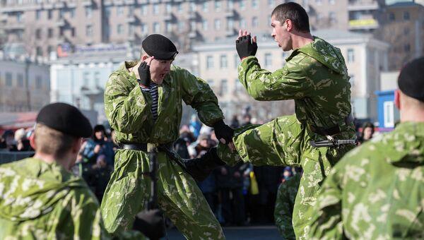 День защитника Отечества во Владивостоке. Архивное фото