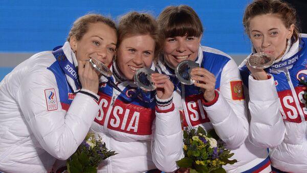 Слева направо: Ольга Зайцева, Яна Романова, Екатерина Шумилова, Ольга Вилухина. Архивное фото