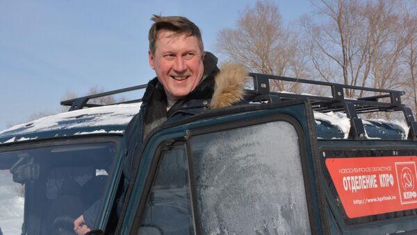 Кандидат в мэры Новосибирск Анатолий Локоть, фото с места событий