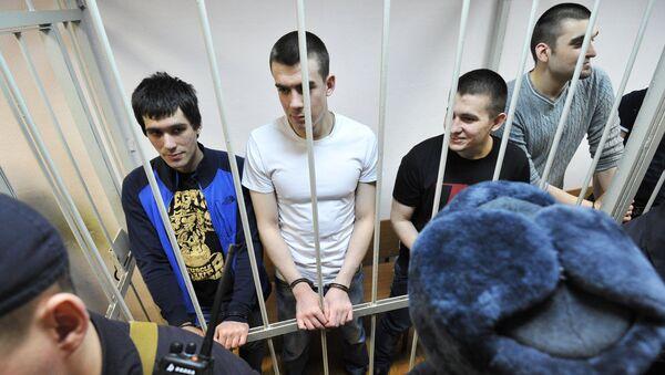 Оглашение приговора по уголовному делу о беспорядках на Болотной площади 6 мая 2012 года