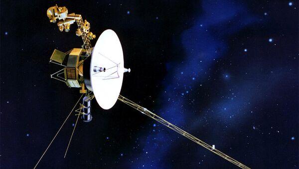Американский космический аппарат для исследований дальних планет Солнечной системы Вояджер-1 (Voyager 1)