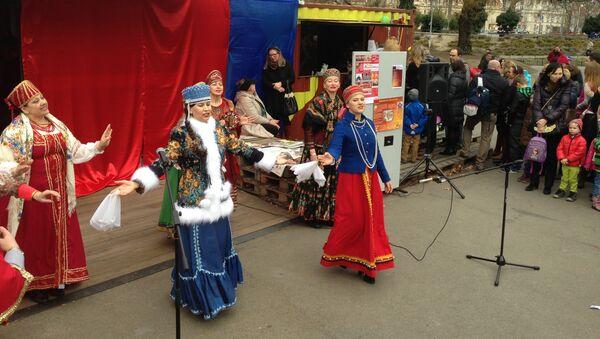 Празднование масленицы в Вене. Фото с места событий