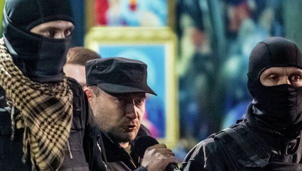 Один из лидеров Правого сектора Дмитрий Ярош, архивное фото