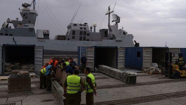 Ракеты с борта судна, перехваченного ВМС Израиля