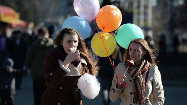 Московская весна. Архивное фото