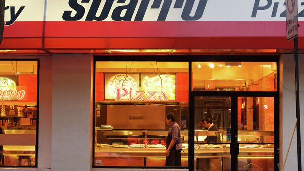 Ресторан Sbarro