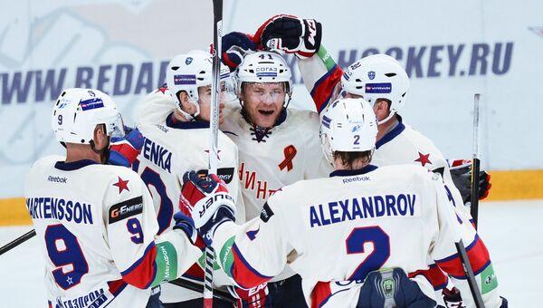 Хоккеисты СКА. Архивное фото