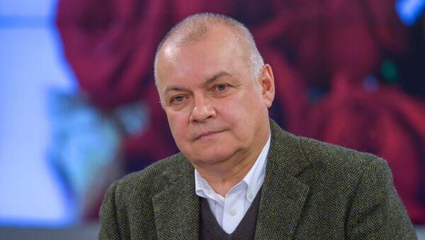 Генеральный директор ФГУП Международное информационное агентство Россия сегодня Дмитрий Киселев. Архивное фото