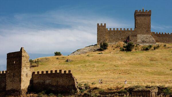 Генуэзская крепость. Архивное фото