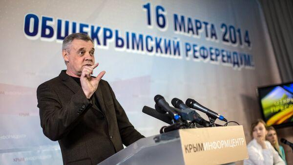 Председатель комиссии АРК по подготовке референдума о статусе Крыма Михаил Малышев, архивное фото