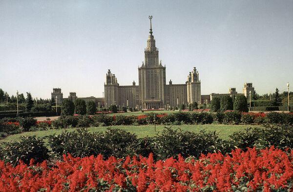 Главное здание МГУ, Воробьевы горы