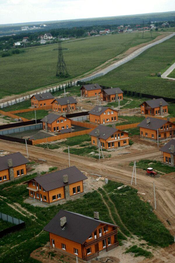 Коттеджный поселок на Новорижском шоссе
