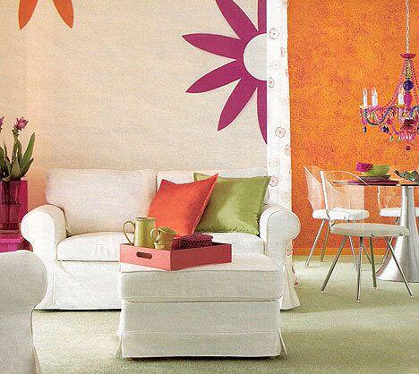 Цвет и цветотерапия в интерьере