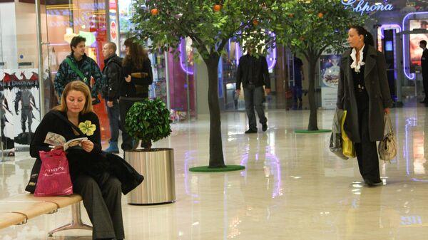 Торговый центр Европейский в Москве, магазин, бутики
