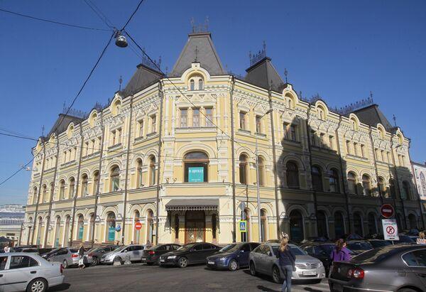 Торговый дом Третьяковых после реставрации