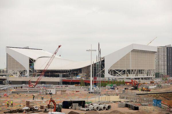 Олимпийский парк в Лондоне авторства Захи Хадид