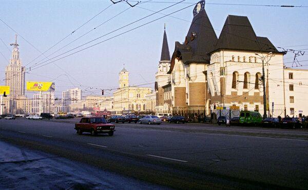 Здание Ярославского вокзала