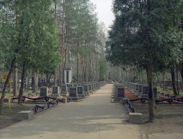 Мемориальные комплексы Москвы, кладбище