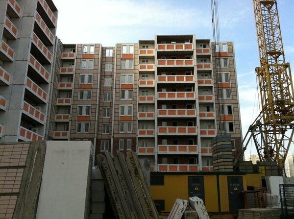 Построенный с нарушениями дом на Люберецких полях