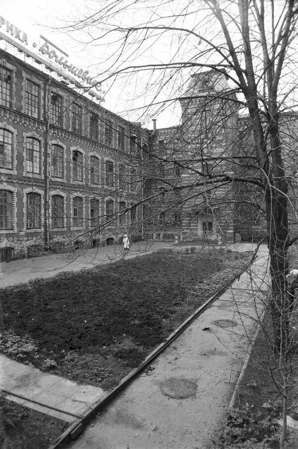 Здание кондитерской фабрики Большевик
