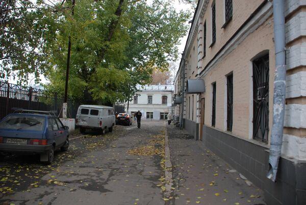 Южная сторона Хитровской площади