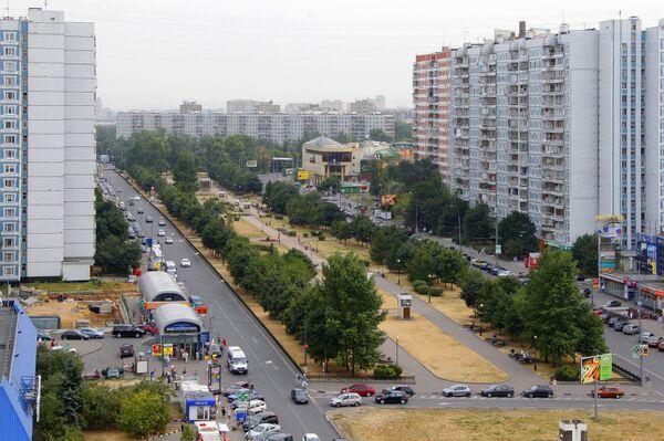 Улица Осенний бульвар в Крылатском