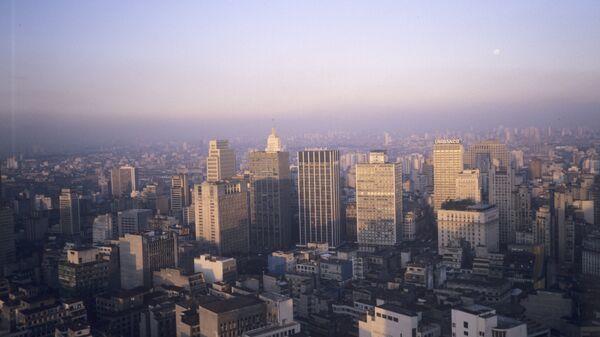Панорама города Сан-Паулу