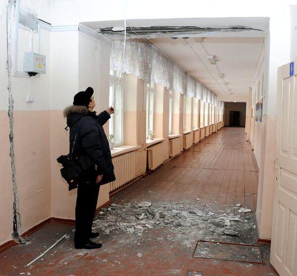 Последствия землетрясения в Туве