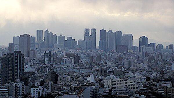 Вид центра Токио, Синдзюку