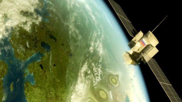 Российская спутниковая система ГЛОНАСС в действии
