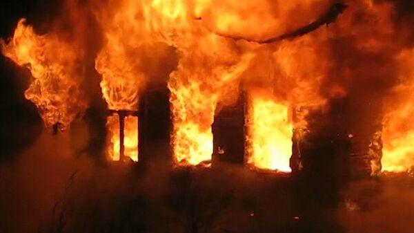 В охваченном огнем доме погибли три человека
