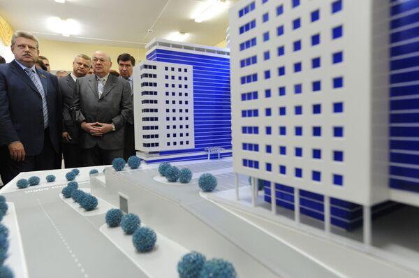 Владимир Ресин посетил экспозицию по проекту Генплана Москвы на период до 2025 года