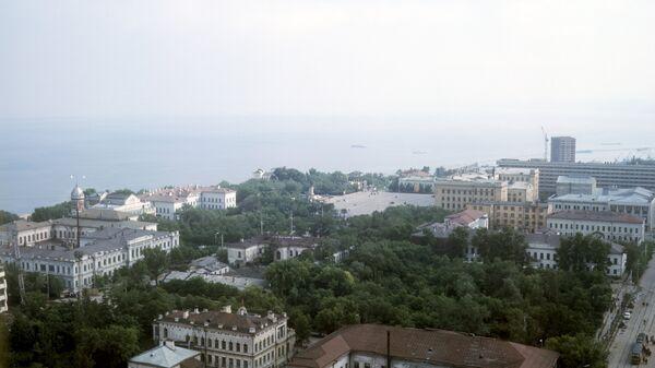 Центральная часть города Ульяновска