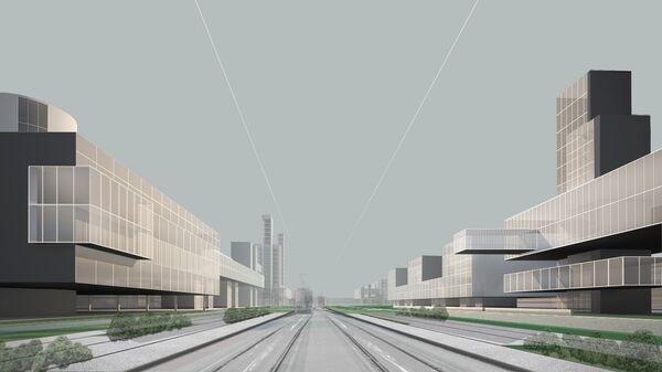Виды нового федерального центра в пос. Коммунарка