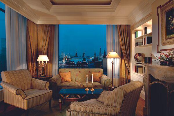 Номер в The Ritz-Carlton Moscow