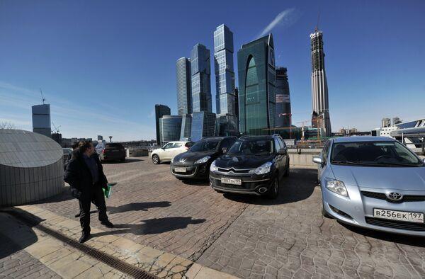 Панорамный вид на ММДЦ Москва-Сити