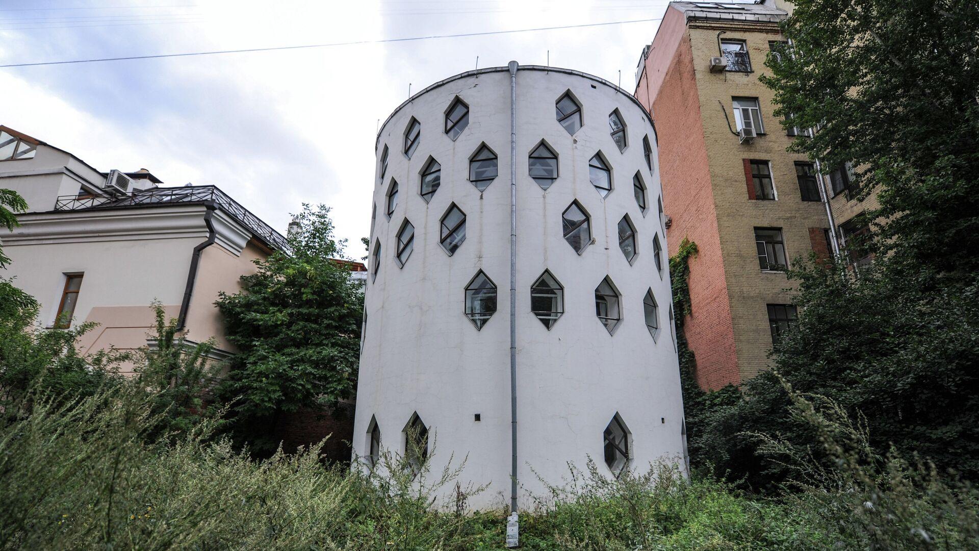 Дом-мастерская архитектора К.С. Мельникова - РИА Новости, 1920, 04.03.2021