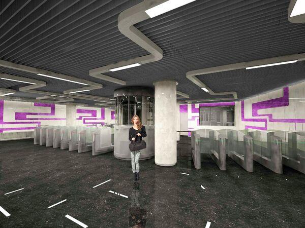 Проект станции метро «Косино-Ухтомская»