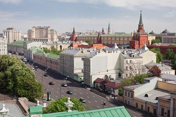 Вид с крыши дома Пашкова