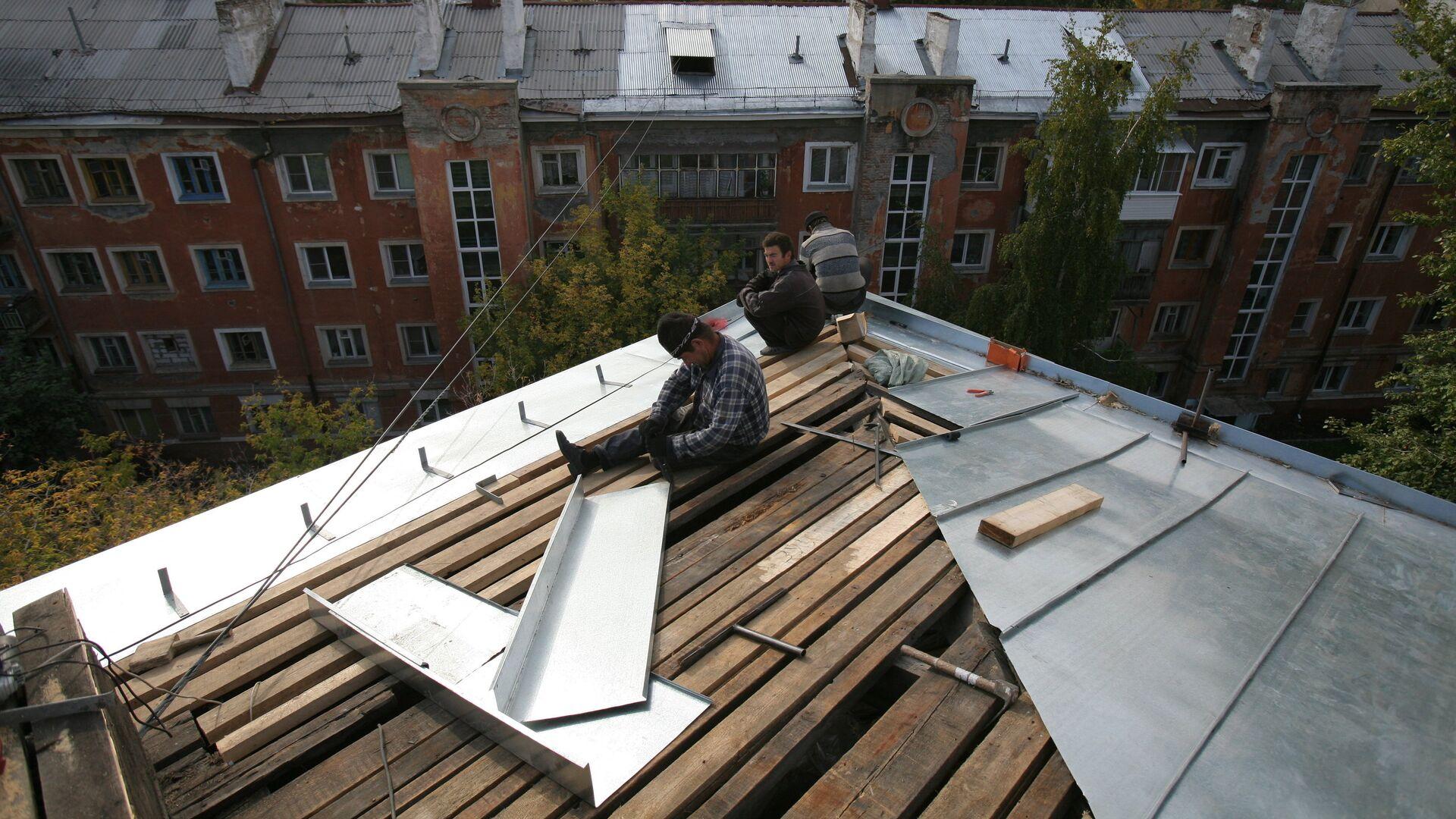 Капитальный ремонт домов в Новосибирске - РИА Новости, 1920, 18.06.2021