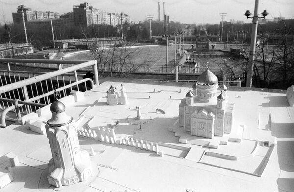 Проект восстановления храма Христа Спасителя В. Мокроусова