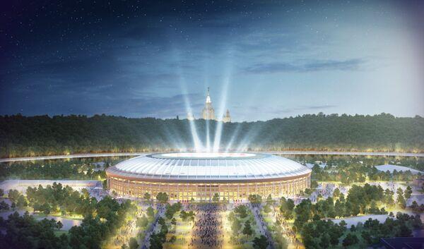 Как будет выглядеть стадион Лужники в Москве после реконструкции
